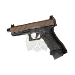 EU17 GBB  - Black/Tan -