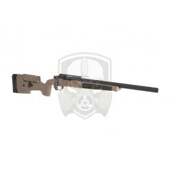 MLC-338 Bolt Action Sniper Rifle Deluxe Edition 130m/s  - Dark Earth -