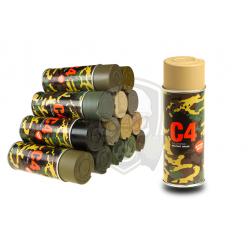 C4 Mil Grade Color Spray RAL1040