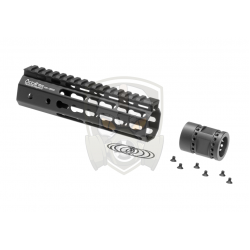 7 Inch Keymod Handguard Set  Black