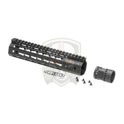 9 Inch Keymod Handguard Set  Black