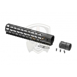 10 Inch Keymod Handguard Set  Black