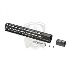 12 Inch Keymod Handguard Set  Black