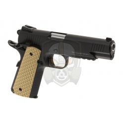Desert Warrior 5.1 Full Metal GBB  - Black -